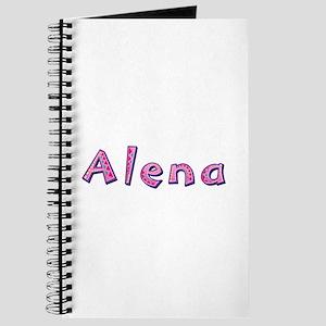 Alena Pink Giraffe Journal