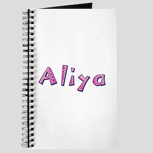 Aliya Pink Giraffe Journal