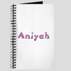 Aniyah Pink Giraffe Journal