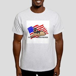 German Shepherd USA Light T-Shirt