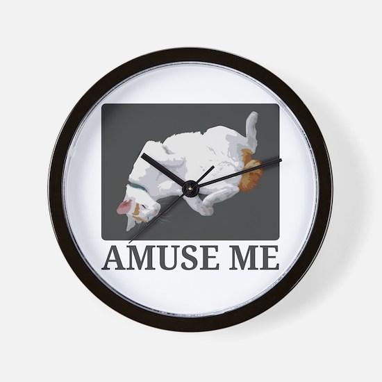 Amuse Me Wall Clock