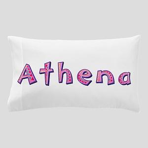 Athena Pink Giraffe Pillow Case