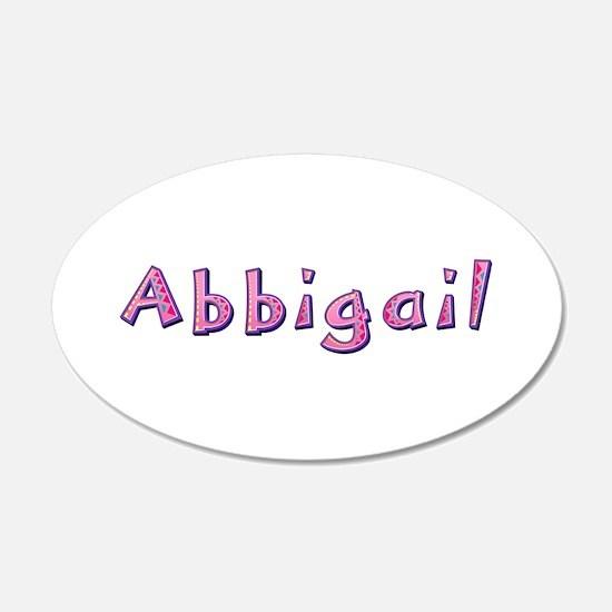 Abbigail Pink Giraffe Wall Decal