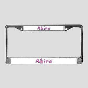 Akira Pink Giraffe License Plate Frame