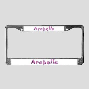 Arabella Pink Giraffe License Plate Frame