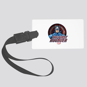 Captain America: The First Aveng Large Luggage Tag
