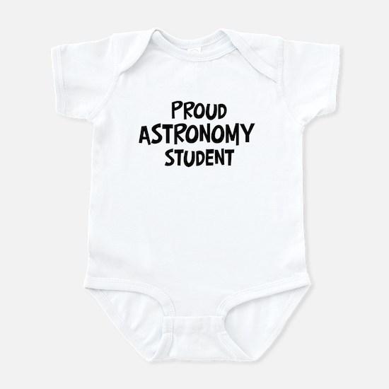 astronomy student Infant Bodysuit