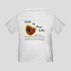 God is Pro-Life Infant T-Shirt