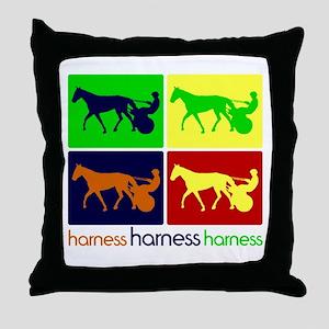 Pop Art Harness Throw Pillow