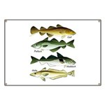 4 Cod fishes c Banner