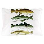 4 Cod fishes c Pillow Case