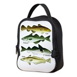 4 Cod fishes c Neoprene Lunch Bag