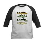 4 Cod fishes c Baseball Jersey