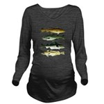 4 Cod fishes c Long Sleeve Maternity T-Shirt