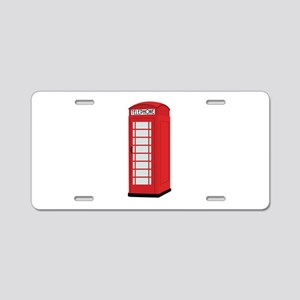 Telephone Aluminum License Plate
