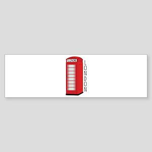 Telephone London Bumper Sticker