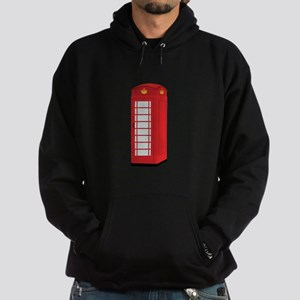 Red Telephone Box Hoodie