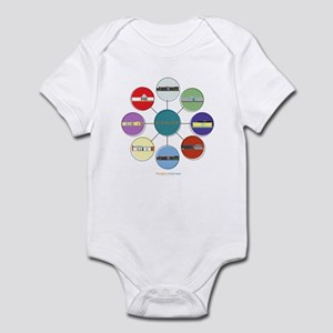 Modern Homes Eichlers Infant Body Suit