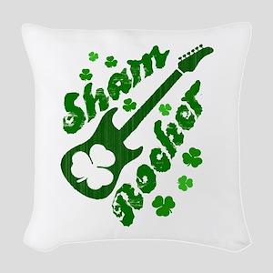 Sham Rocker Woven Throw Pillow