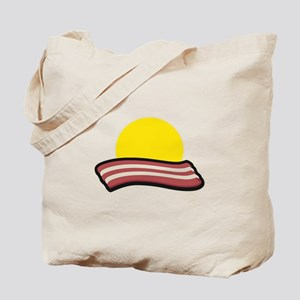 Bacon Sunset Tote Bag
