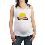 Bacon Sunset Maternity Tank Top