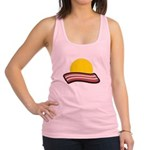 Bacon Sunset Racerback Tank Top