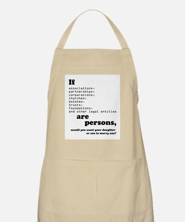 If Corps Were Just Folks Apron