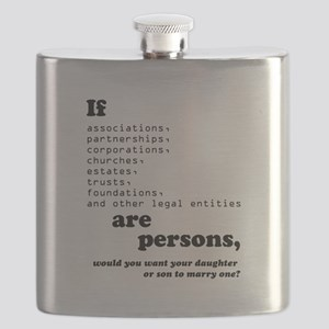 If Corps Were Just Folks Flask