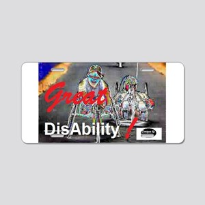 Great Ability Aluminum License Plate