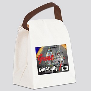 Great Ability Canvas Lunch Bag