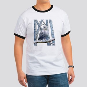 BLUE-EYED SNOW OWL Ringer T