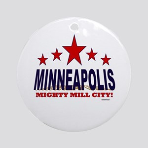 Minneapolis Mighty Mill City Ornament (Round)