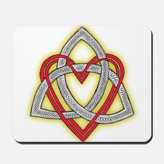 Heart of God Mousepad