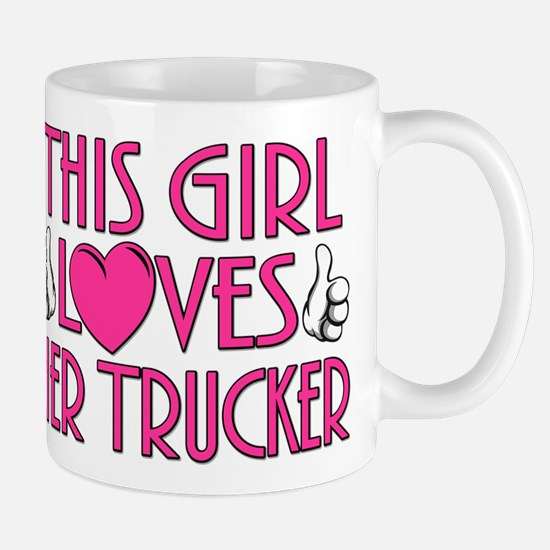 This Girl Loves Her Trucker Mug