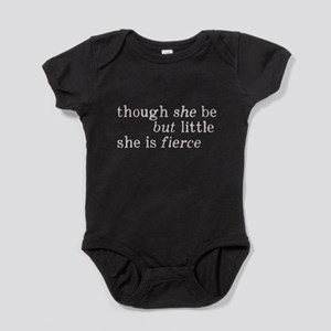 She is Fierce Shakespeare Baby Bodysuit