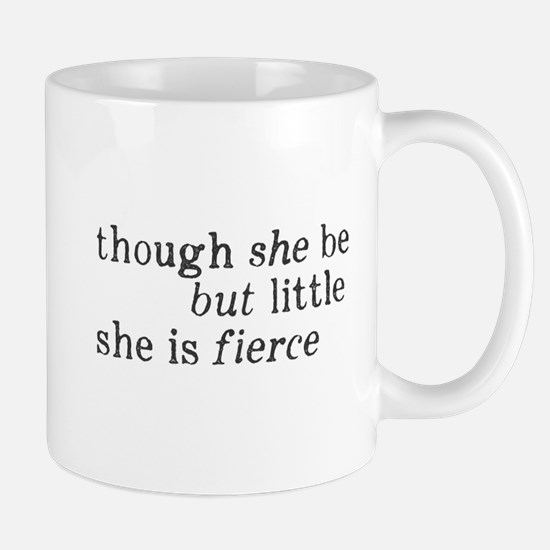 She is Fierce Shakespeare Mug