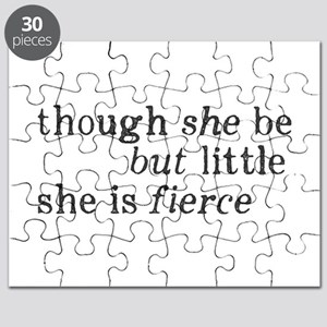 She is Fierce Shakespeare Puzzle