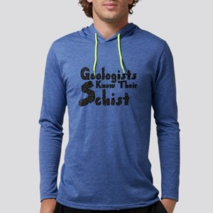 Geologists Know Schist Long Sleeve T-Shirt