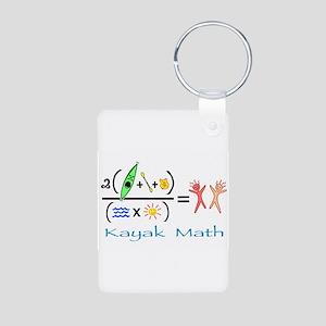 kayakmath16 Keychains