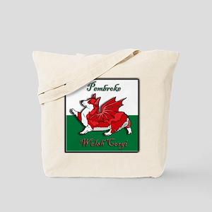 The Red Corgon (flag) - Tote Bag