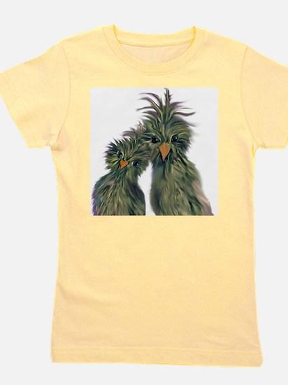 DODO DOODLE LOVE BIRDS Girl's Tee