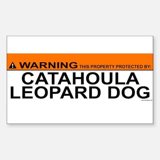 CATAHOULA LEOPARD DOG Decal