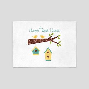Home Tweet Home 5'x7'Area Rug