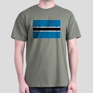 Botswana flag Dark T-Shirt