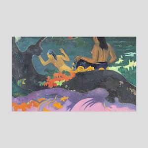 Paul Gauguin Fatata Te Miti (By T 35x21 Wall Decal
