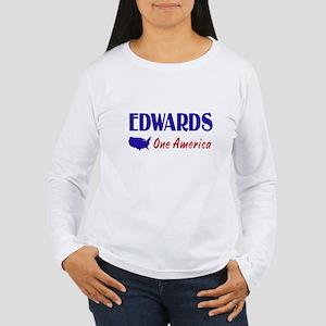 John Edwards 2008 Women's Long Sleeve T-Shirt