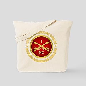 1st North Carolina Cavalry Tote Bag