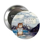 Abrahamster at Hubbard Glacier Alaska Button