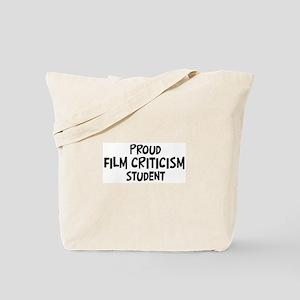 film criticism student Tote Bag