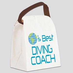 Earths Best Diving Coach Canvas Lunch Bag